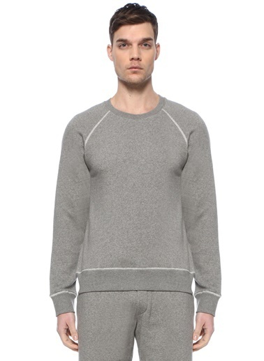 American Vintage Sweatshirt Gri